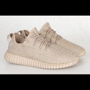 official photos 89628 aad9a Women Beige Yeezys 350 on Poshmark